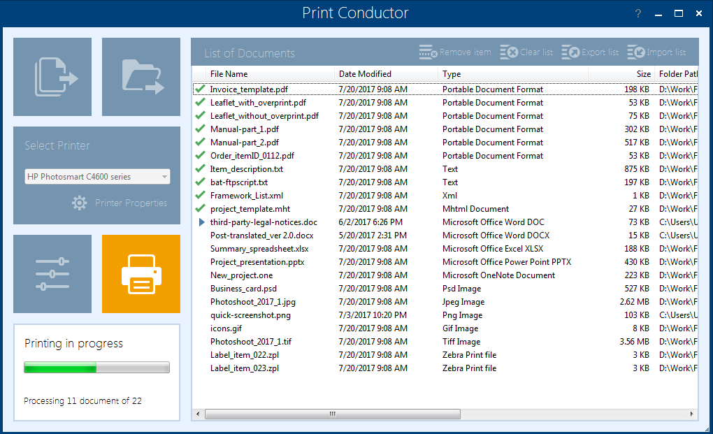 Download Print Conductor 32, 64 bit for Windows 10, 11 PC. Free