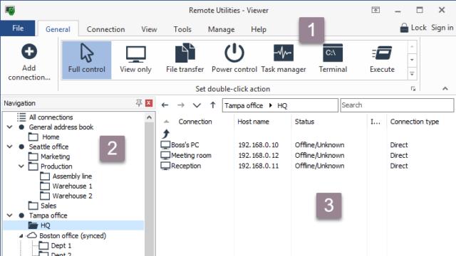Remote Utilities Viewer for Windows 10 Screenshot 1