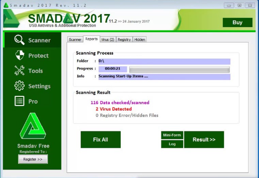 Smadav Antivirus for Windows 10 Screenshot 1