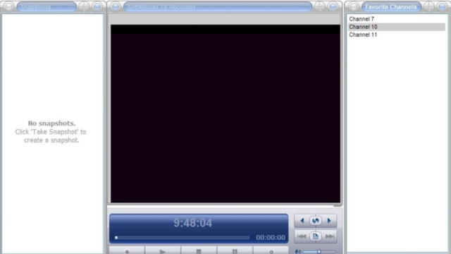 Soft4Boost TV Recorder for Windows 10 Screenshot 1