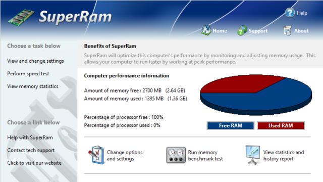 SuperRam for Windows 10 Screenshot 1