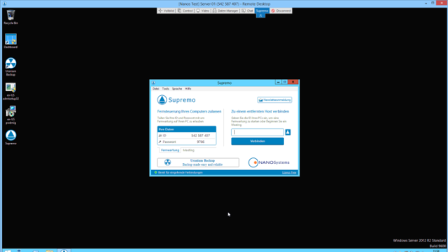 Supremo Remote Desktop for Windows 10 Screenshot 1