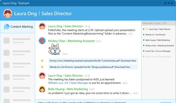 Teampel for Windows 10 Screenshot 1