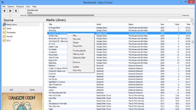 Tuniac for Windows 10 Screenshot 1