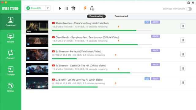 iTube HD Video Downloader for Windows 10 Screenshot 1