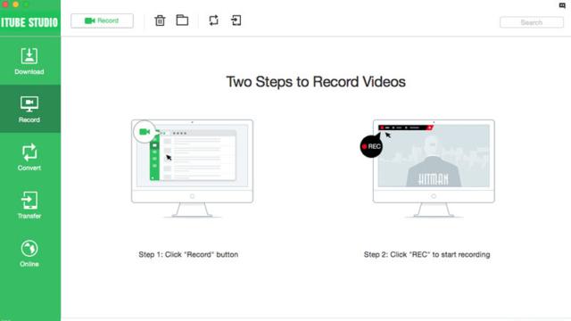 iTube HD Video Downloader for Windows 10 Screenshot 2
