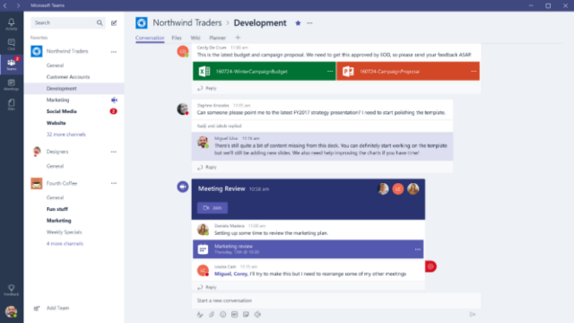 Microsoft Teams for Windows 10 Screenshot 1