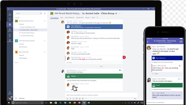 Microsoft Teams for Windows 10 Screenshot 2