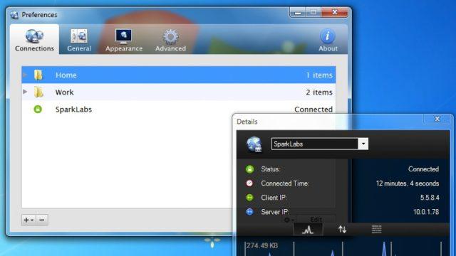 Viscosity VPN for Windows 10 Screenshot 2