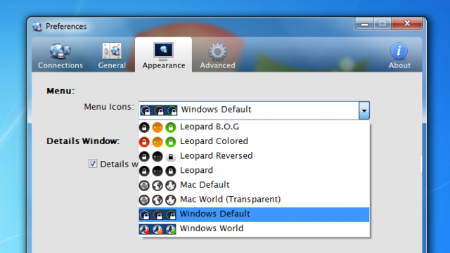 Viscosity VPN for Windows 10 Screenshot 3