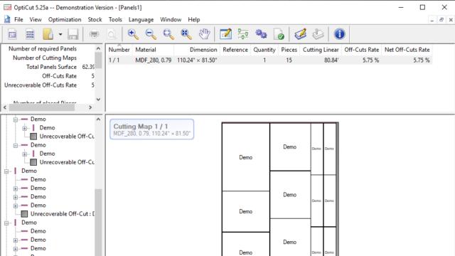 OptiCut for Windows 10 Screenshot 1