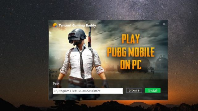 PUBG (Tencent Gaming Buddy) for Windows 10 Screenshot 1