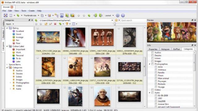 XnView MP for Windows 10 Screenshot 1