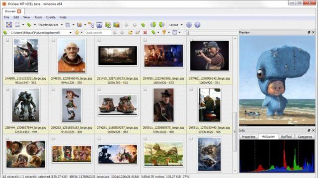 XnView MP for Windows 10 Screenshot 2