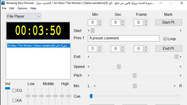 Amazing Slow Downer for Windows 10 Screenshot 1