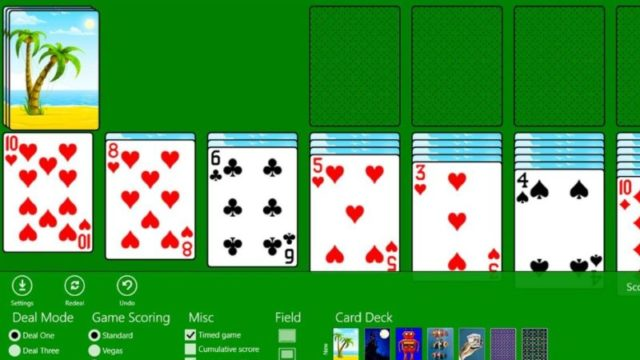 Classic Solitaire for Windows 10 Screenshot 1
