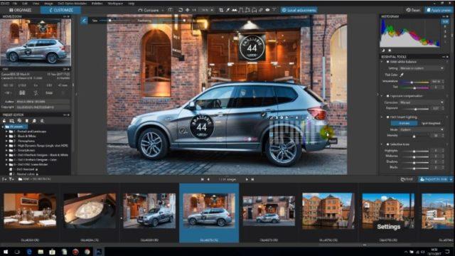 DxO PhotoLab for Windows 10 Screenshot 1