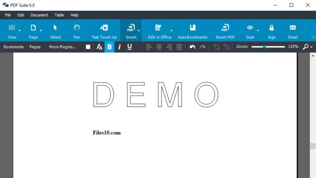 Amyuni PDF Suite for Windows 10 Screenshot 1