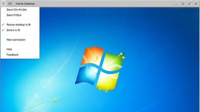Chrome Remote Desktop for Windows 10 Screenshot 3