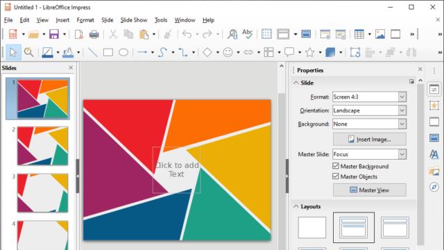 LibreOffice for Windows 10 Screenshot 3