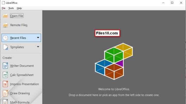 LibreOffice for Windows 10 Screenshot 1
