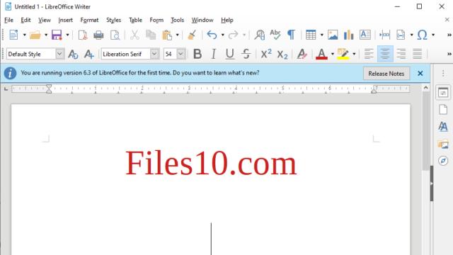 LibreOffice for Windows 10 Screenshot 2