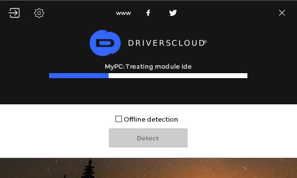 DriversCloud for Windows 10 Screenshot 1