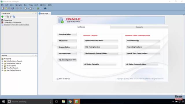 Download Oracle SQL Developer (64/32 bit) for Windows 10