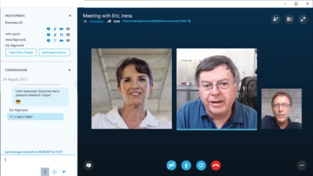 Skype for Business for Windows 10 Screenshot 1
