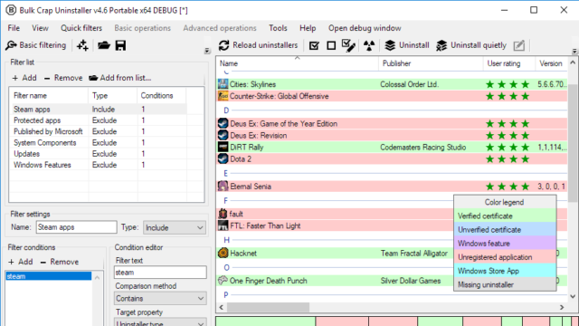 Klocman software bulk crap uninstaller download