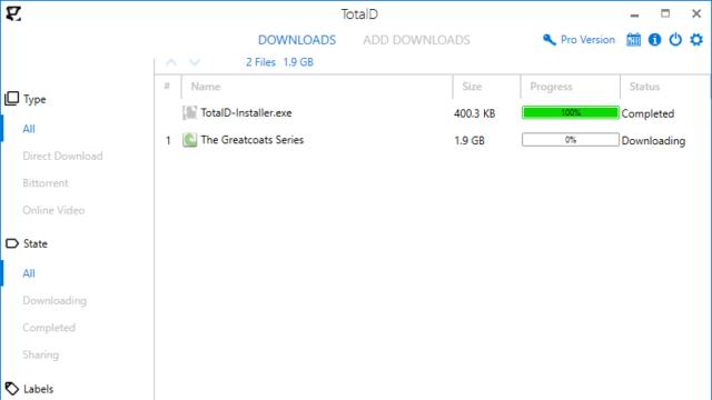 TotalD for Windows 10 Screenshot 1