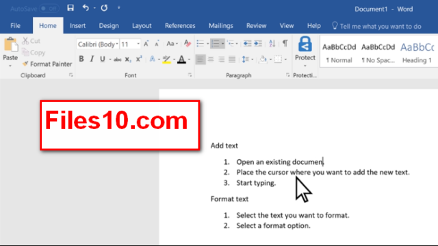 Microsoft Office 2019 for Windows 10 Screenshot 1