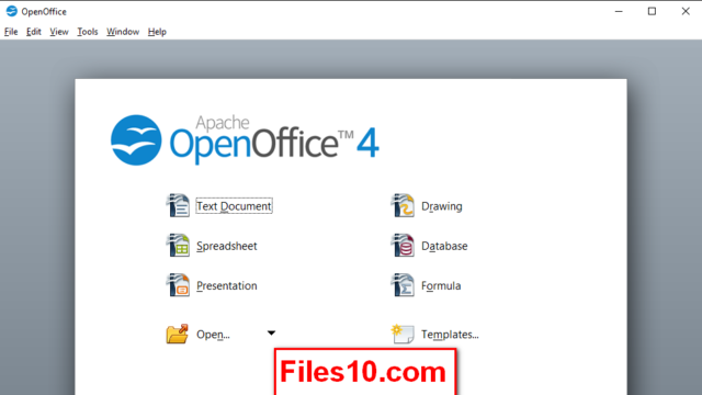 OpenOffice for Windows 10 Screenshot 1
