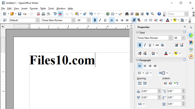 OpenOffice for Windows 10 Screenshot 2