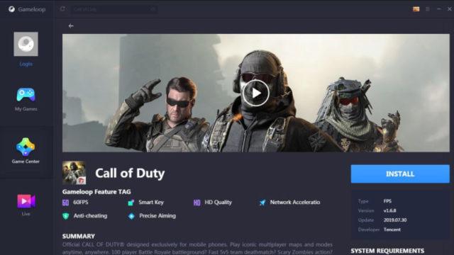 GameLoop for Windows 10 Screenshot 2
