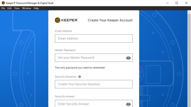 Keeper Password Manager for Windows 10 Screenshot 2